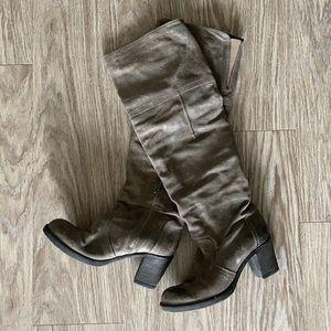 Aldo Block Heel Over-the-Knee Boots